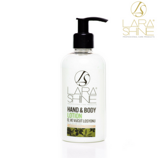 Lara Shine Hand and Body Lotion with Olive Oil 250 ML