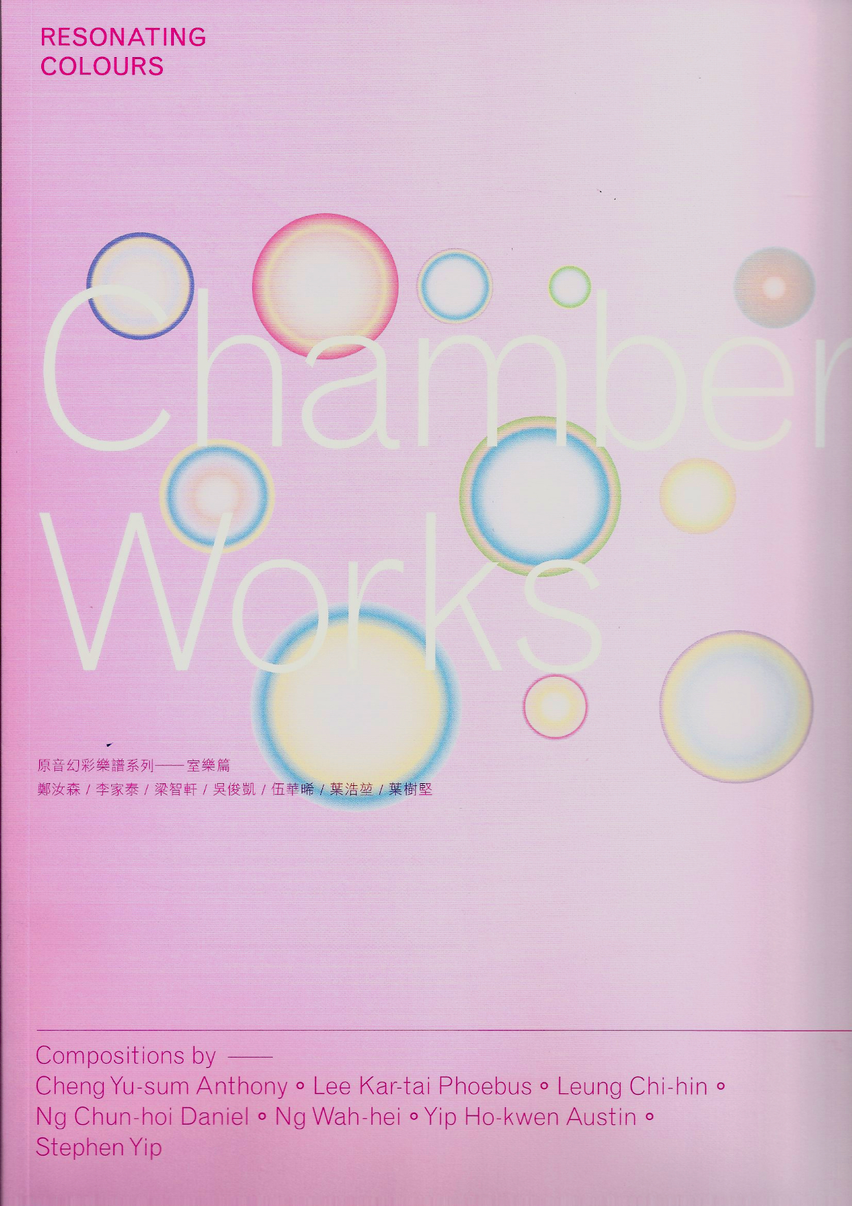 Resonating Colours - Chamber Works