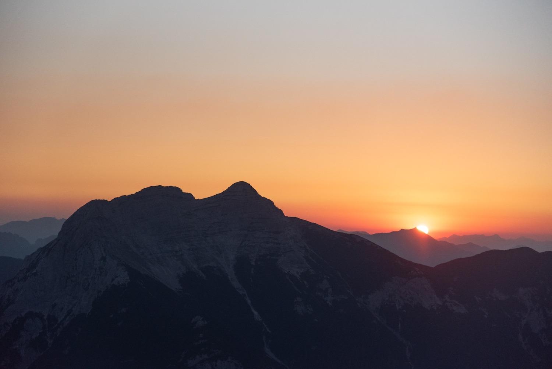Sonnenaufgangstour Hochunnütz, Achensee Tirol