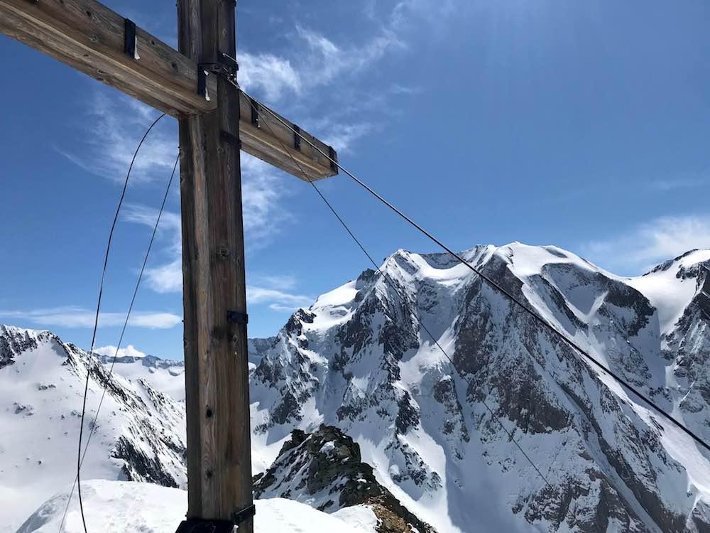 Gipfelkreuz Rotbachlspitze, Pfitschertal