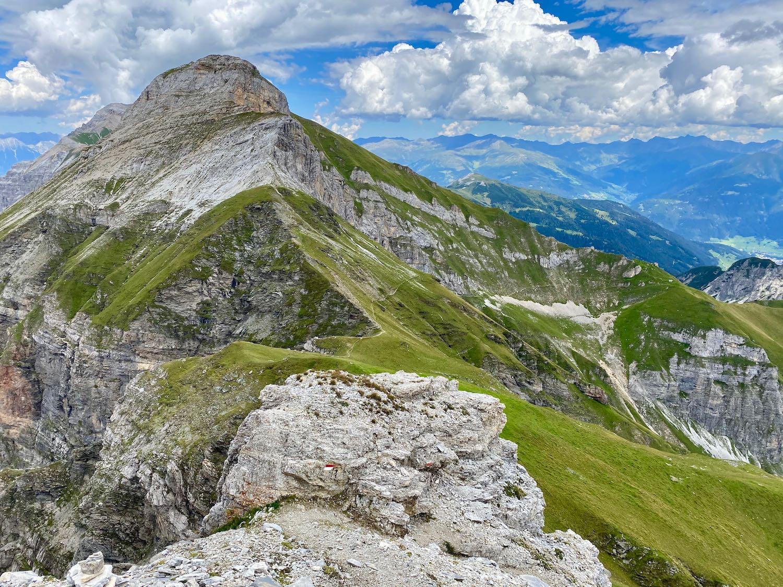 Blick zur Hammerspitze, Gschnitztal Tirol