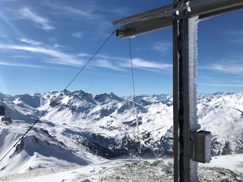 Gipfelkreuz am Hippold, Wattener Lizum
