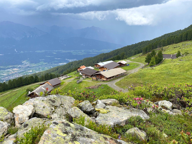 Largozalm, Bergtour Largoz, Tirol