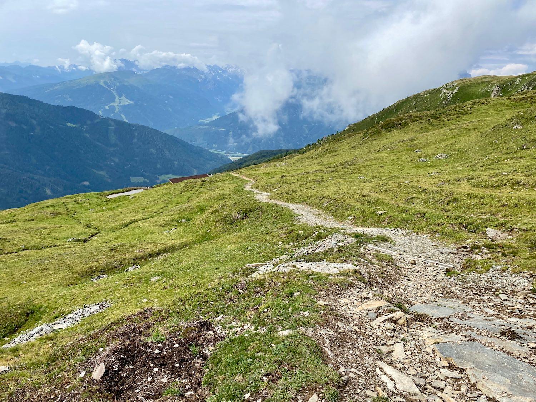 Abfahrt vom Hirschstein, Navistal Tirol