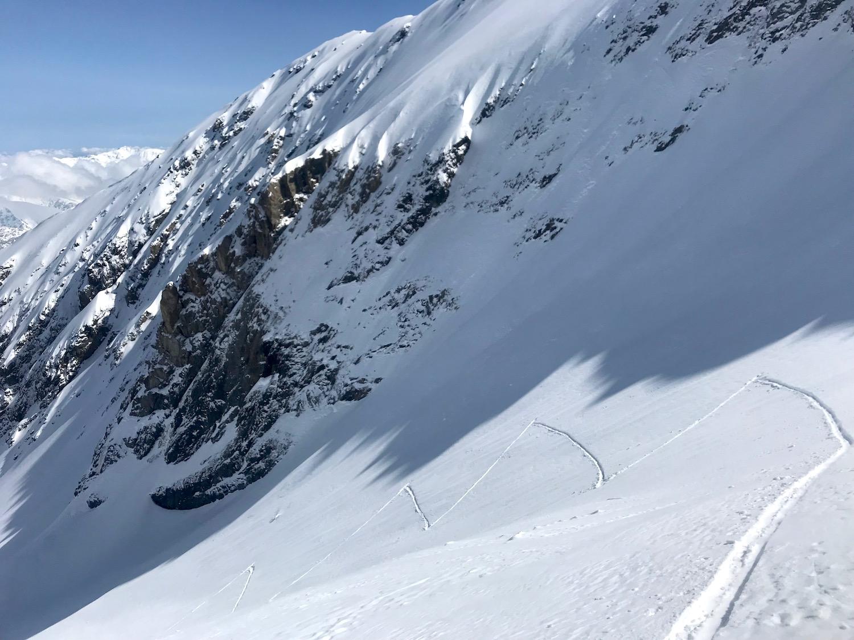Spitzkehren, Kleiner Kaserer Schmirntal Tirol