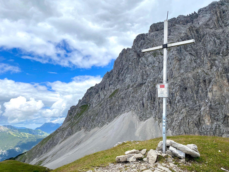 Gipfelkreuz, Bike & Hike Höllkopf, Tirol