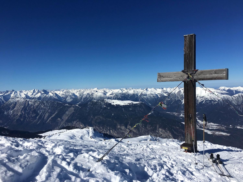 Gipfelkreuz, Skitour Pirchkogel