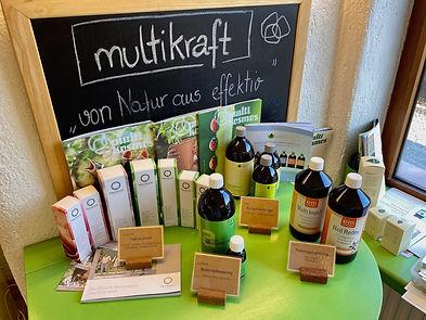 Multikraft Produkte, Bäckerei Liebe Sonne Hall in Tirol