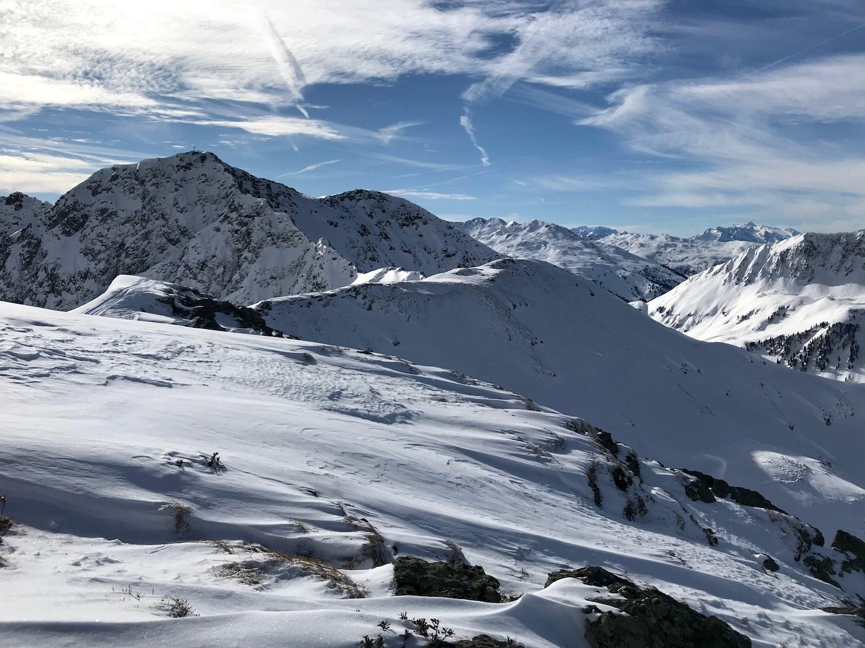 Ausblick am Gipfel, Kleiner Beil Alpbachtal