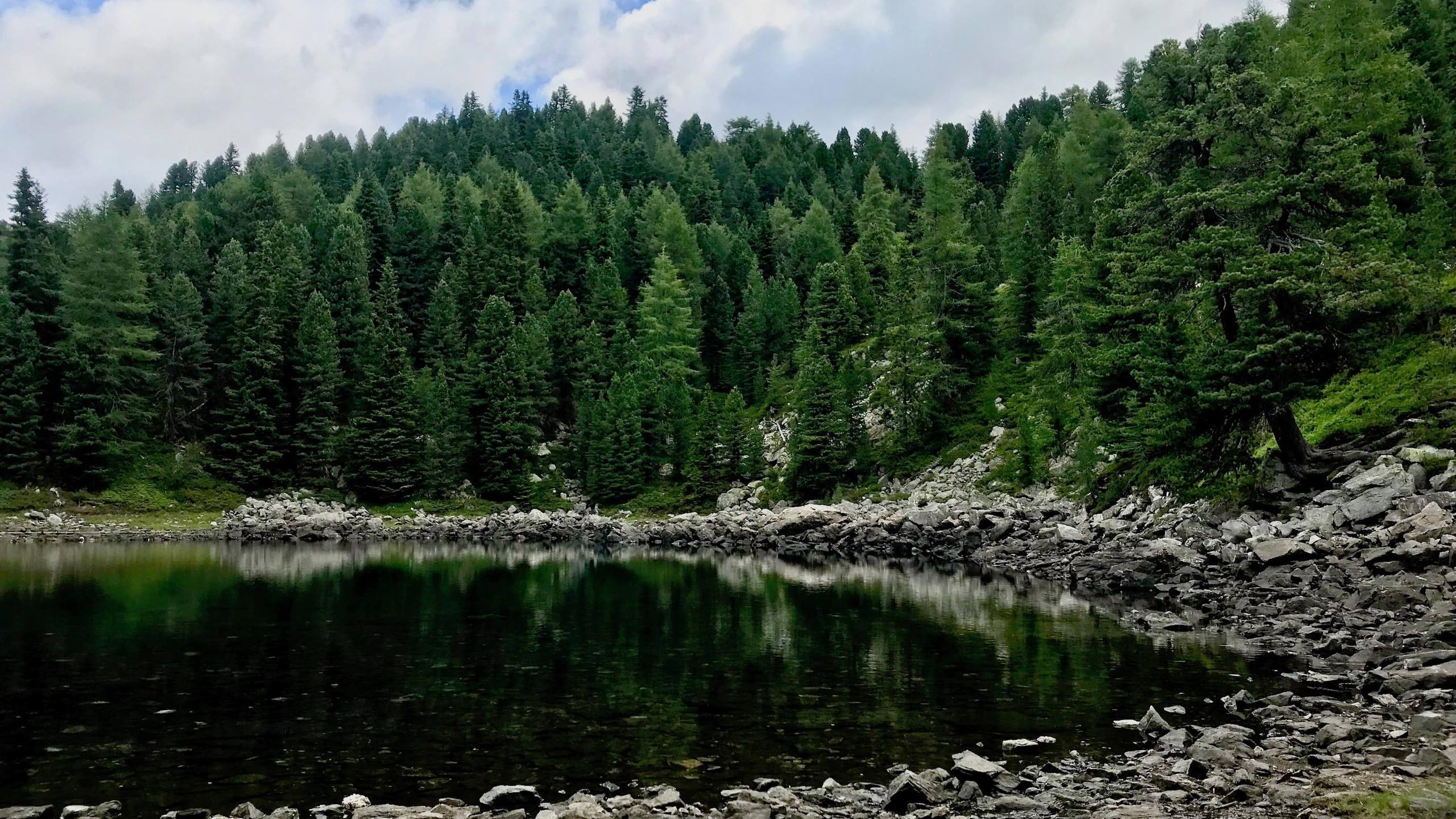 Kleiner Schruettensee, Biketour Vahrn