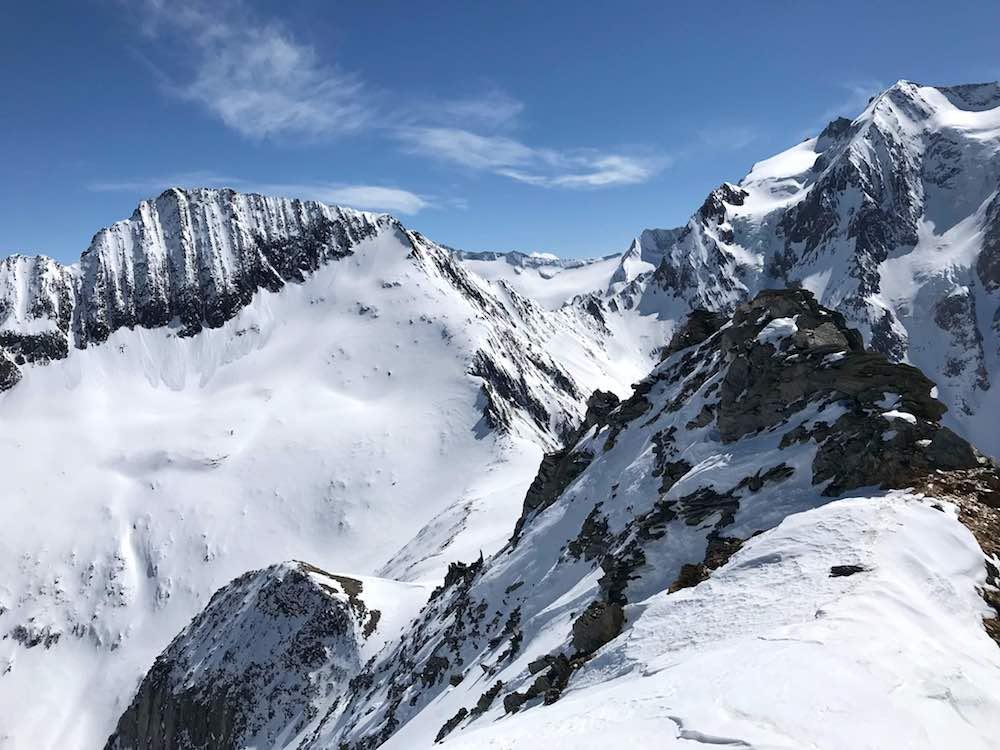 Gletscherblick Rotbachlspitze, Pfitschertal