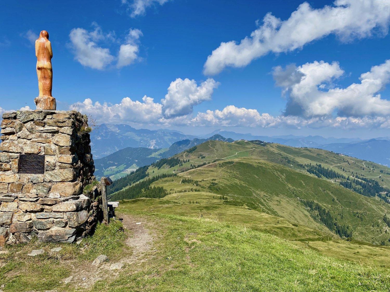 Gipfel Joelspitze, Alpbachtal Tirol