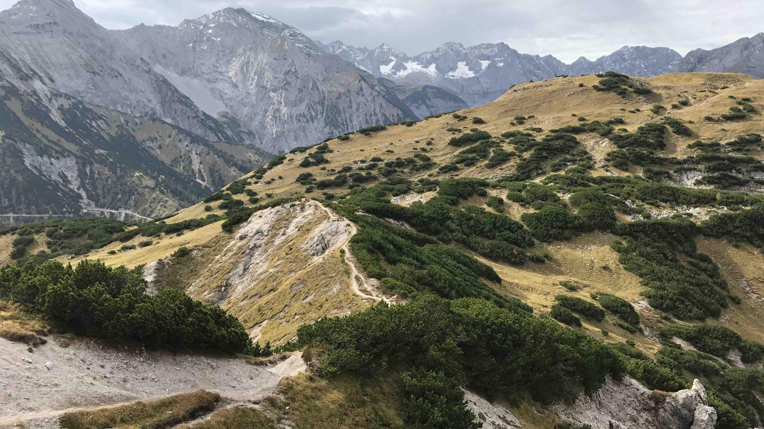 Ueber den Plumssattel zum Plumsjoch, Bergtour Achensee