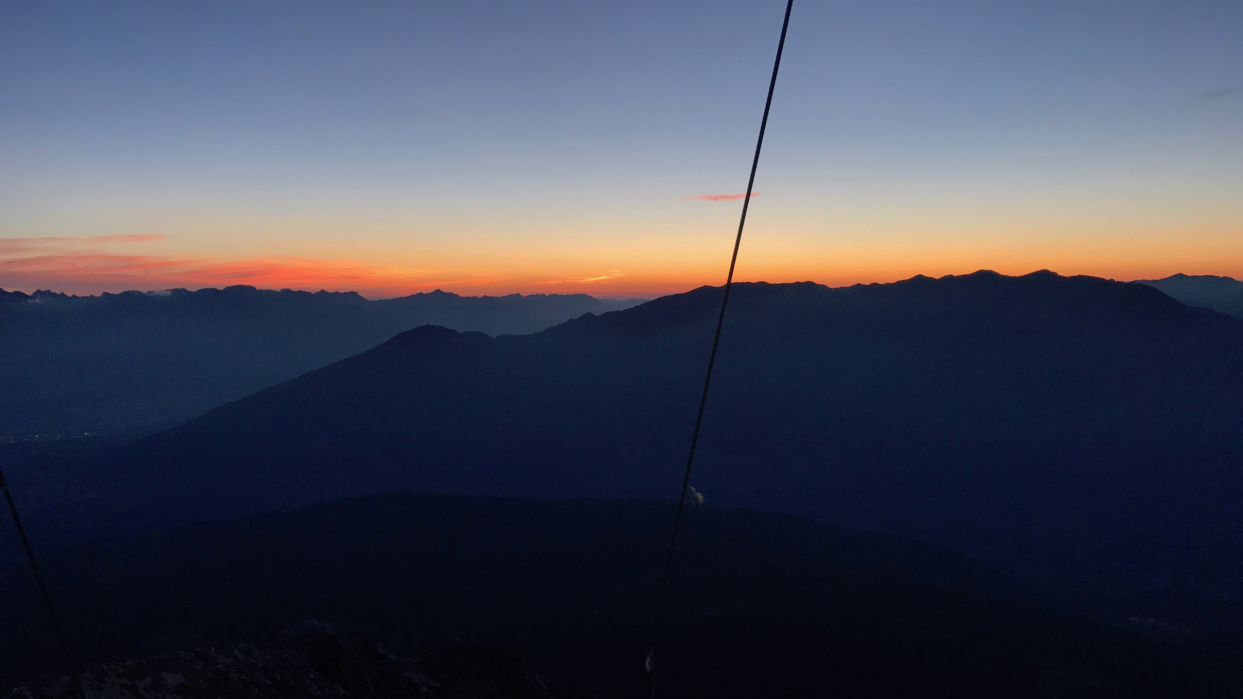 Sonnenaufgang beginnt, Sonnenaufgangstour Serles