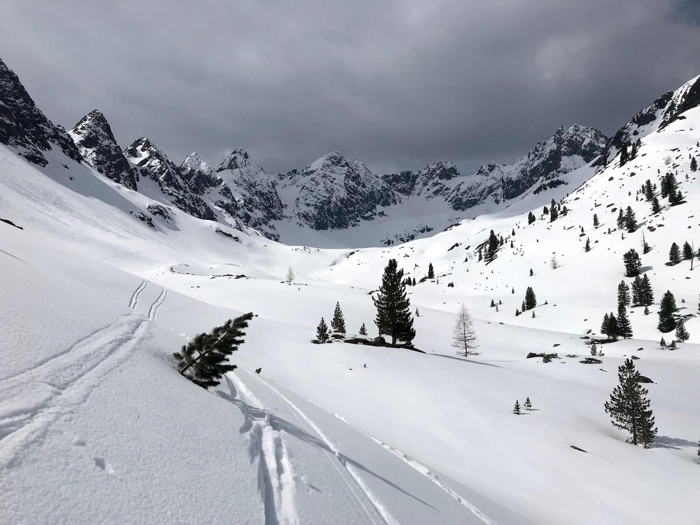 Hinein in das Mittertal, Wechnerscharte Tirol