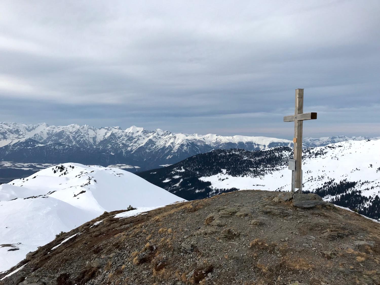 Gipfelkreuz Rosslaufspitze, Weerberg