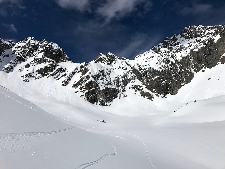 Zurueck in das Tal, Wechnerscharte Tirol