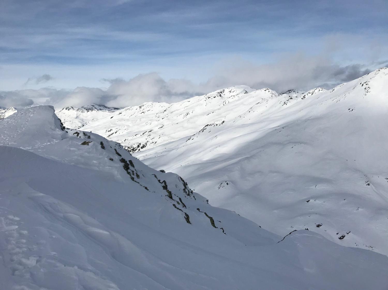 Blick vom Gaishorn, Skitour Schaldererhorn