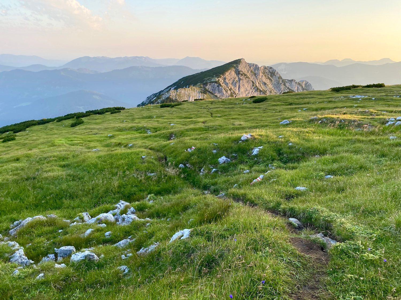 Wandersteig Hochunnütz, Achensee Tirol