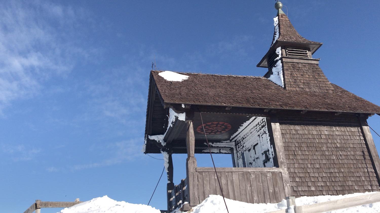 Kapelle am Gipfel, Skitour Kellerjoch