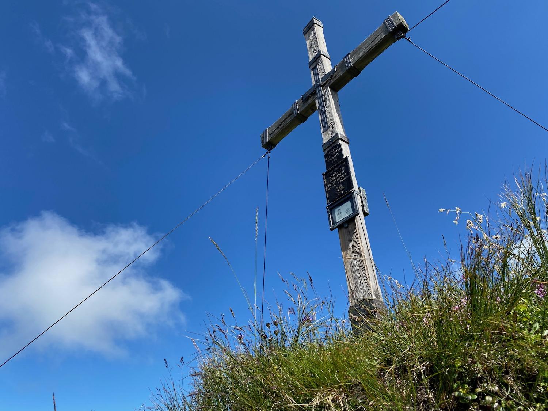 Gipfelkreuz, Bike & Hike Ottenspitze, Tirol