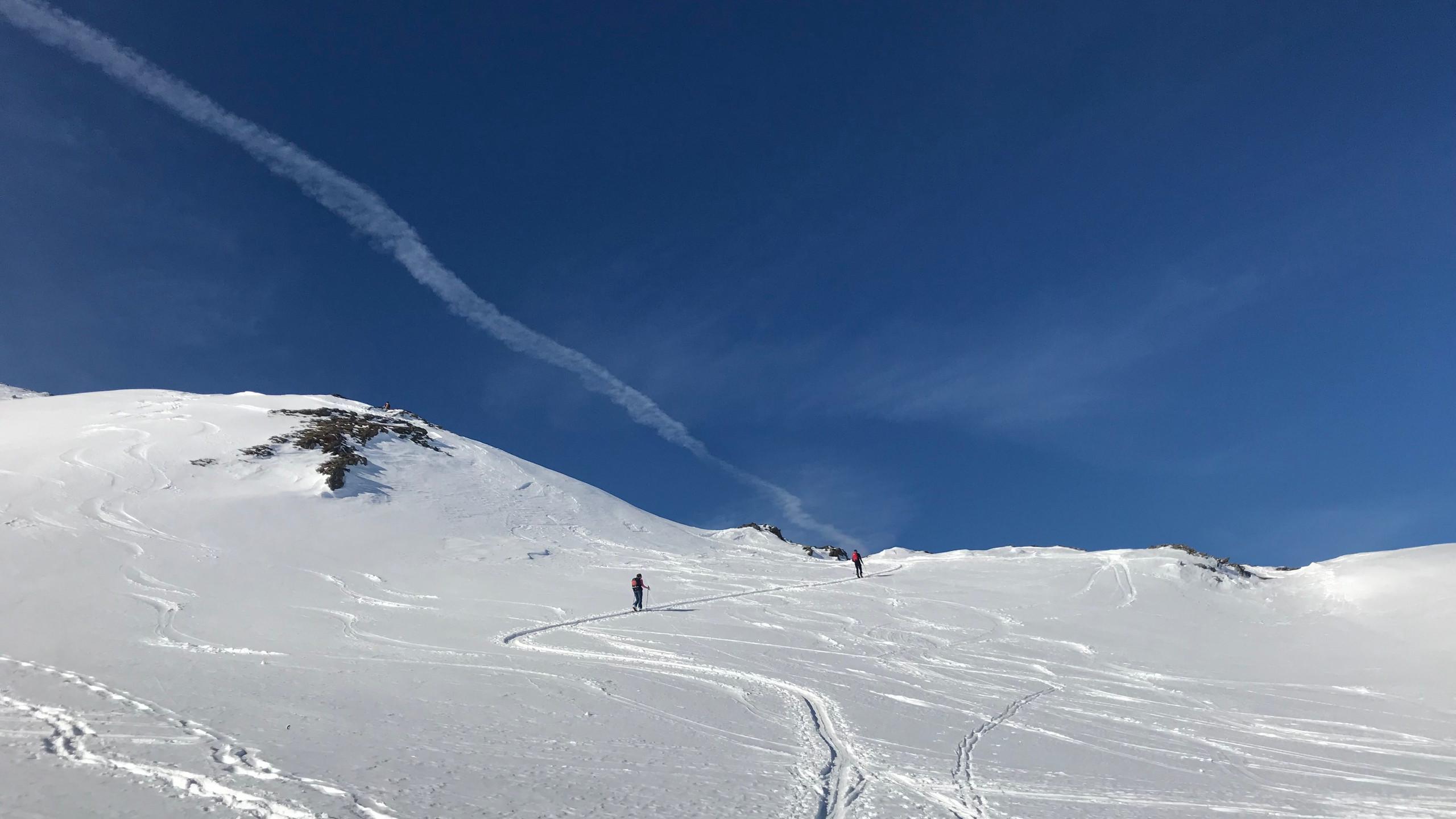 Letzter Aufstieg zum Gipfel