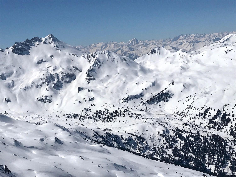 Blick in das Tal, Torspitze Wattener Lizum