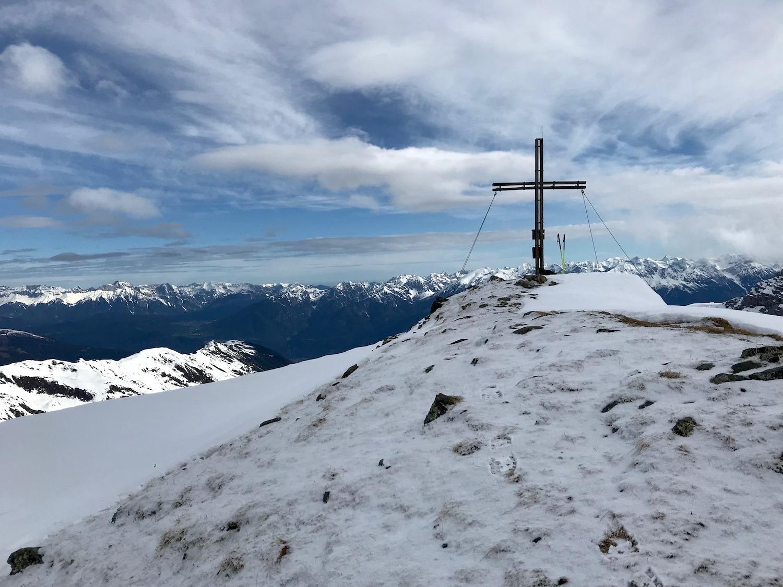 Gipfelkreuz, Gamskogel Senderstal