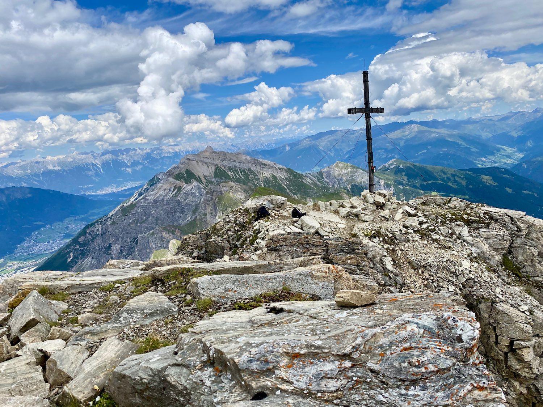 Gipfelkreuz Kirchdachspitze, Tirol