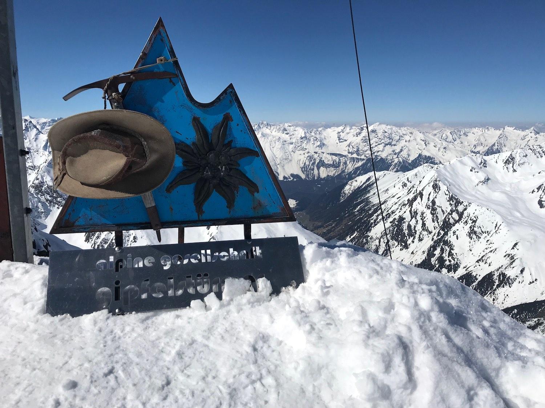 Gipfel Alpine Gesellschaft, Zwieselbacher Rosskogel Sellraintal