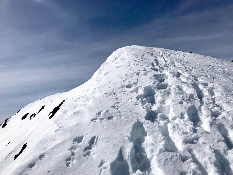 Gipfelzustieg, Skitour Ochsenkopf Kelchsau