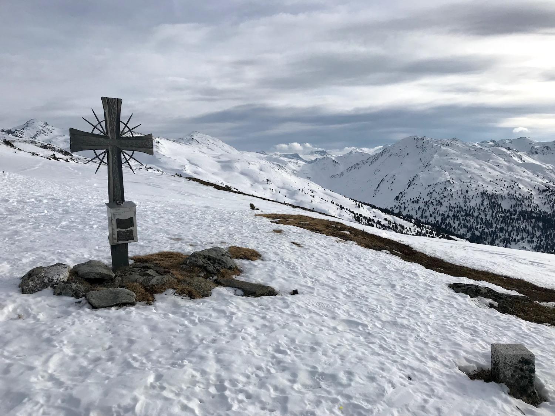 Gipfelkreuz Alplkoepfl, Weerberg