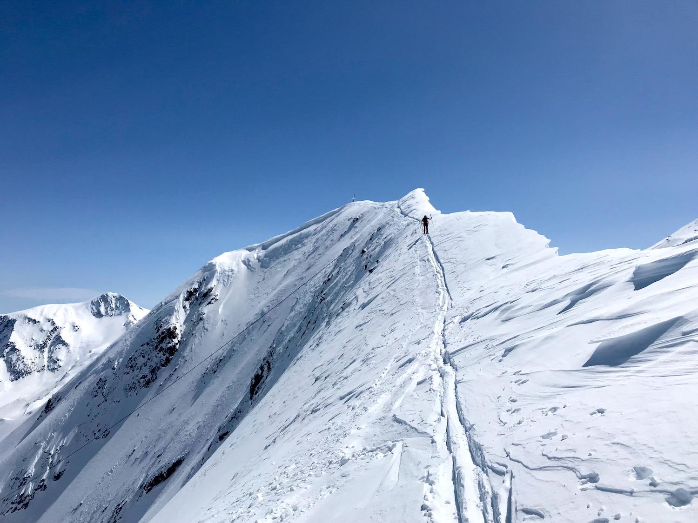 Gipfelzustieg Wechte, Kleiner Kaserer Schmirntal Tirol
