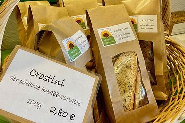 Crostini aus der Bäckerei Liebe Sonne, Hall in Tirol