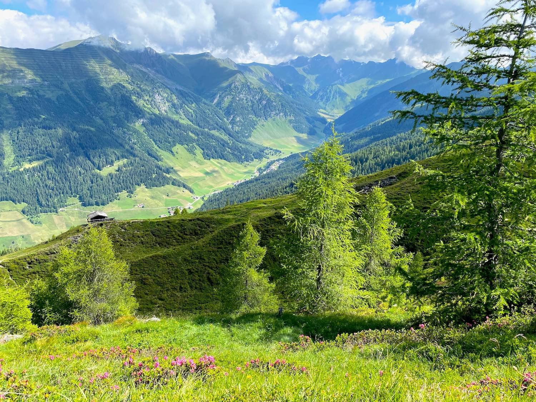 Blick zur Ottenspitzhütte, Bike & Hike Ottenspitze, Tirol