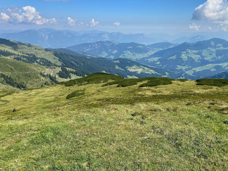 Blick zum Alpbachtal, Tirol