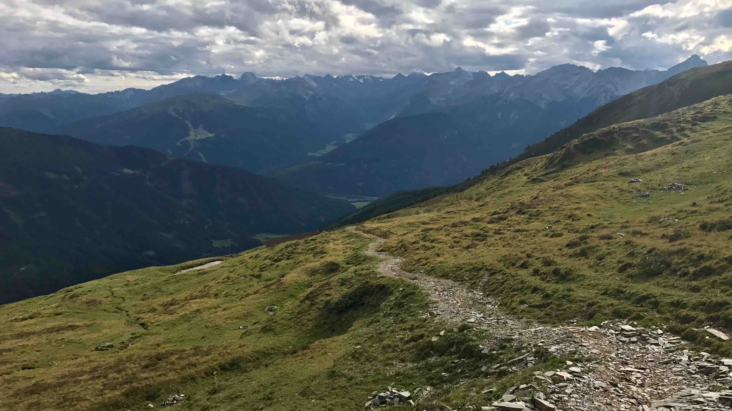 Trail zur Mislalm, Biketour Voldertal