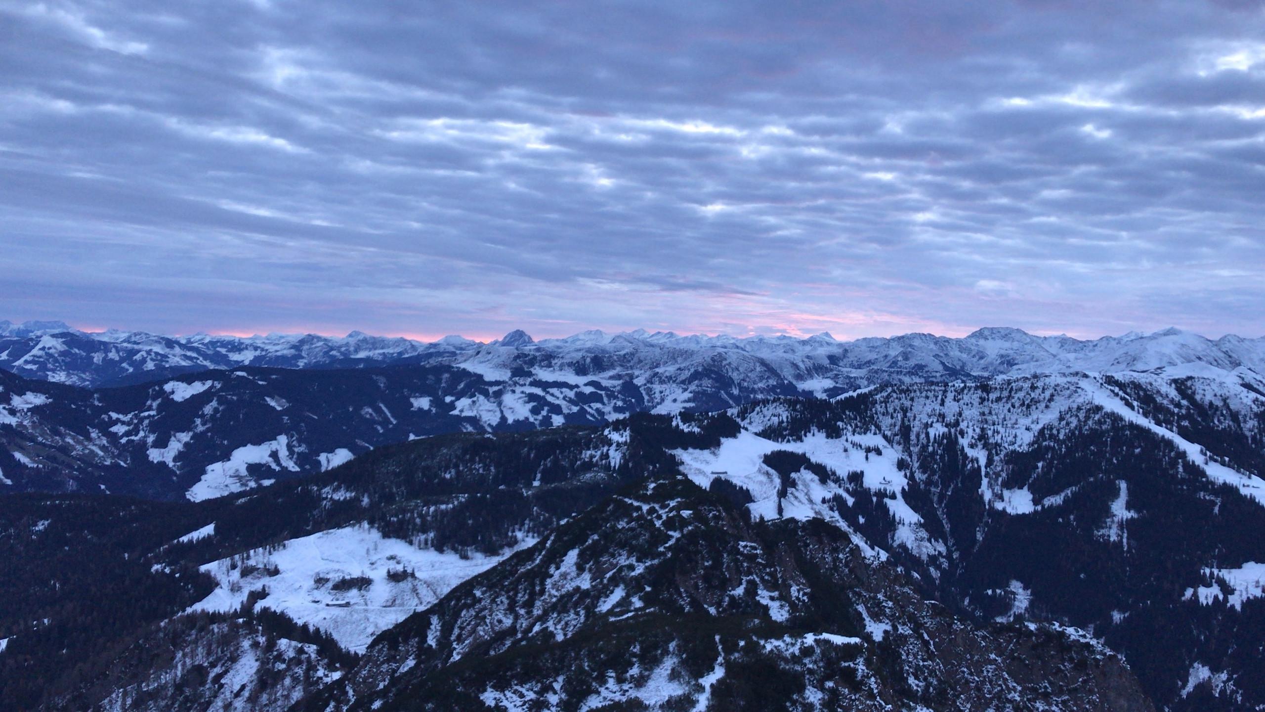 Sonnenaufgang im Wintertraum, Sonnenaufgangstour Alpbachtal