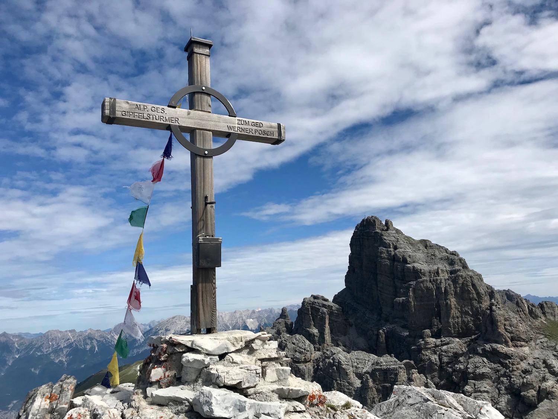 Gipfelkreuz Steingrubenkogel, Senderstal