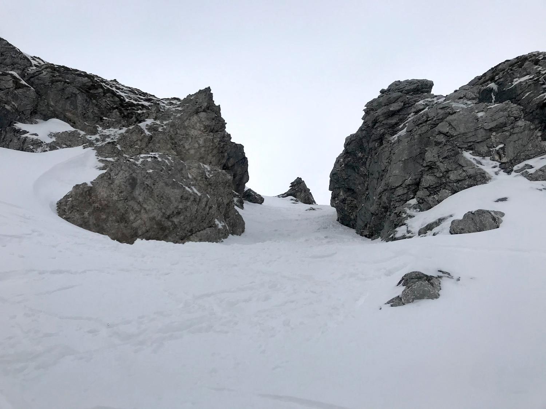 Steile Rinne, Vorderunnuetz Achensee