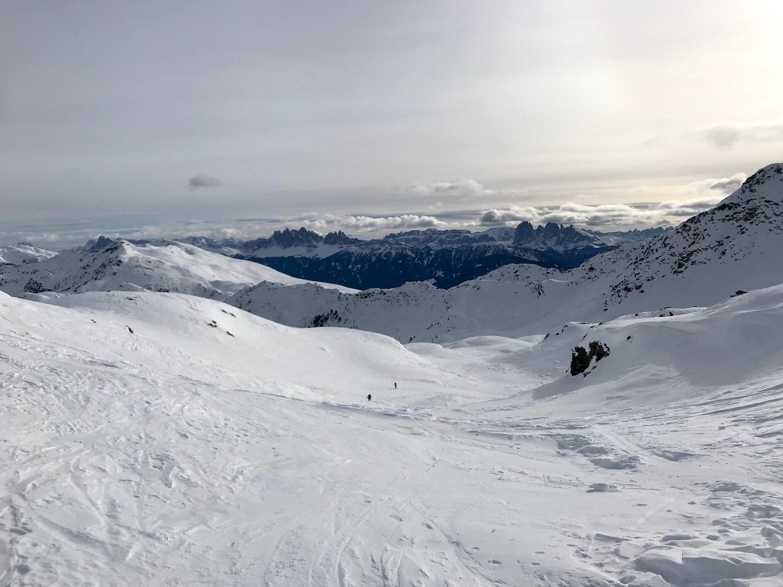 Aufstieg zum Gaishorn, Skitour Schaldererhorn