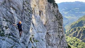 Absamer Klettersteig, Halltal - 2.077 m