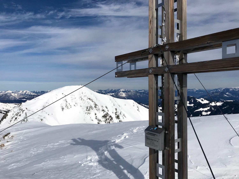 Neues Gipfelkreuz, Kleiner Beil Alpbachtal