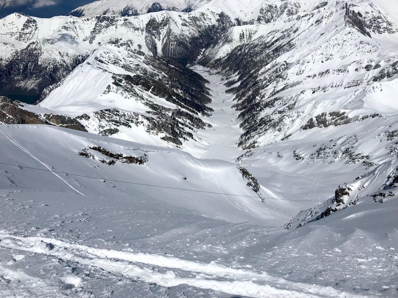 Blick in das Wildlahnertal, Kleiner Kaserer Schmirntal Tirol