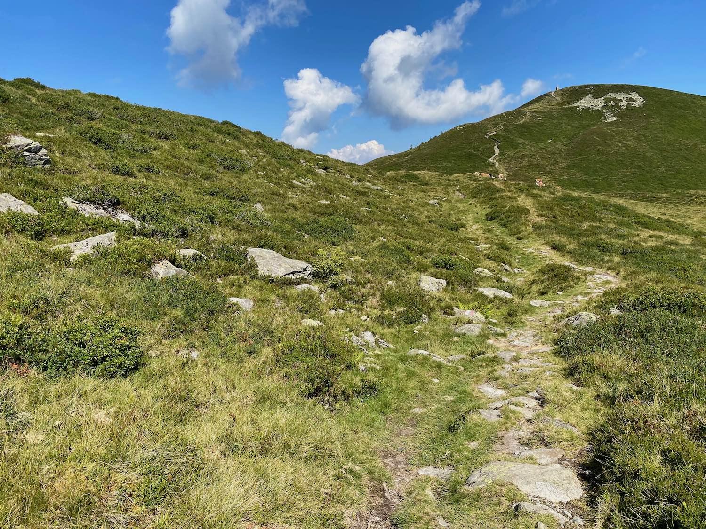 Wanderweg zur Joelspitze Alpbachtal, Tirol