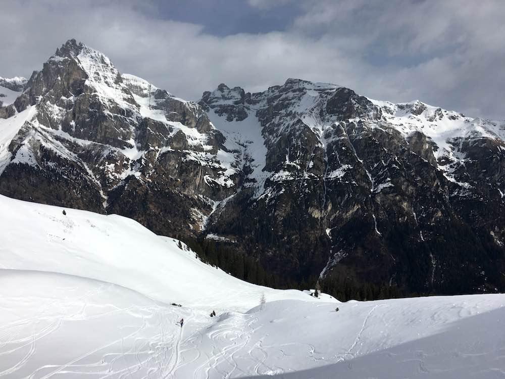 Blick Tribulaun Bodnerberg, Pflerschtal