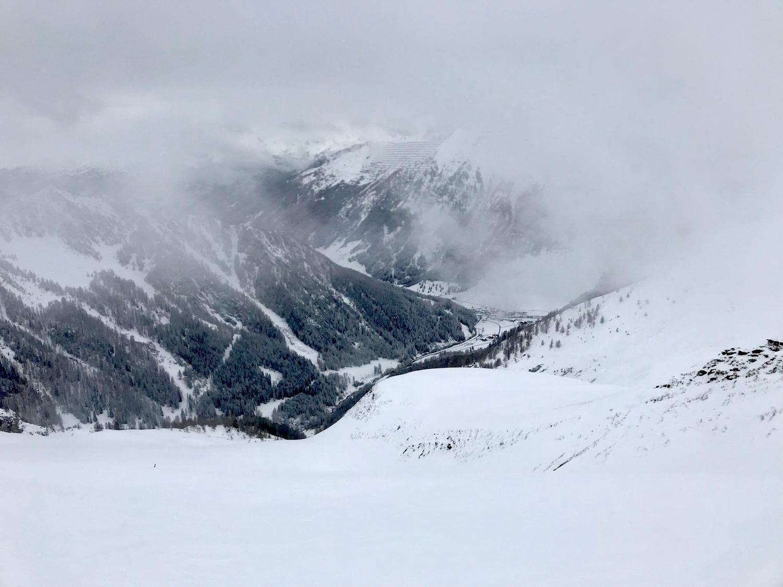 Blick in das Tal, Schoeberspitzen Schmirntal Tirol