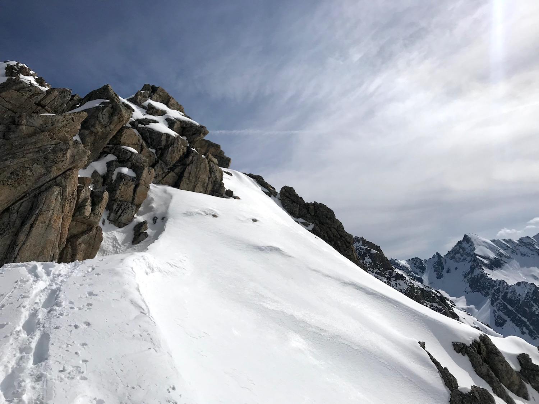 Ankunft am Ziel, Wechnerscharte Tirol
