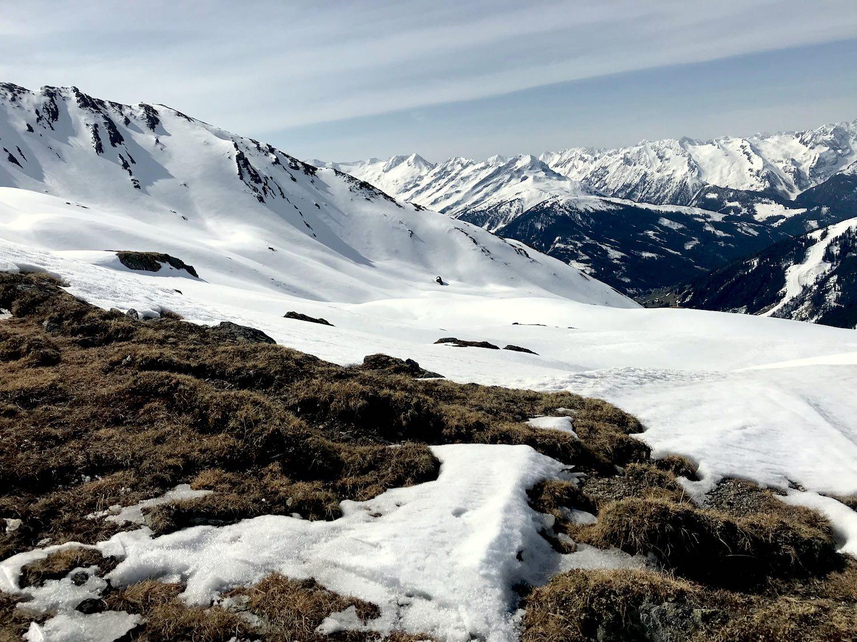 Bergpanorama, Skitour Ochsenkopf Kelchsau