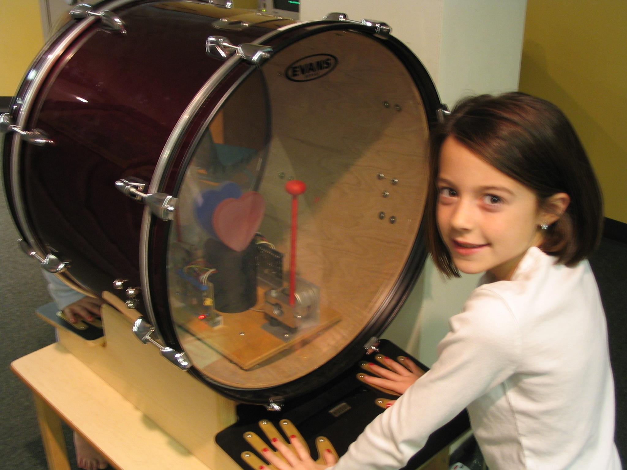 Heartbeat Drum
